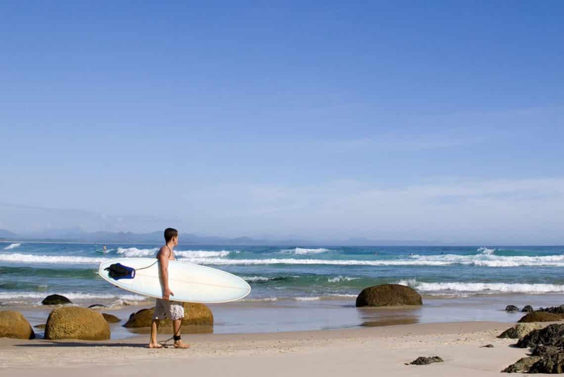 Surfkurs in Australien