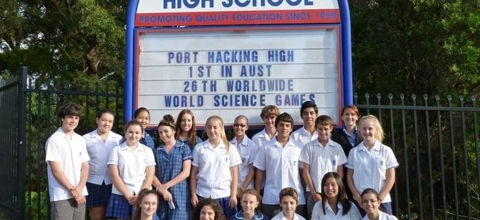 Port Hacking High School
