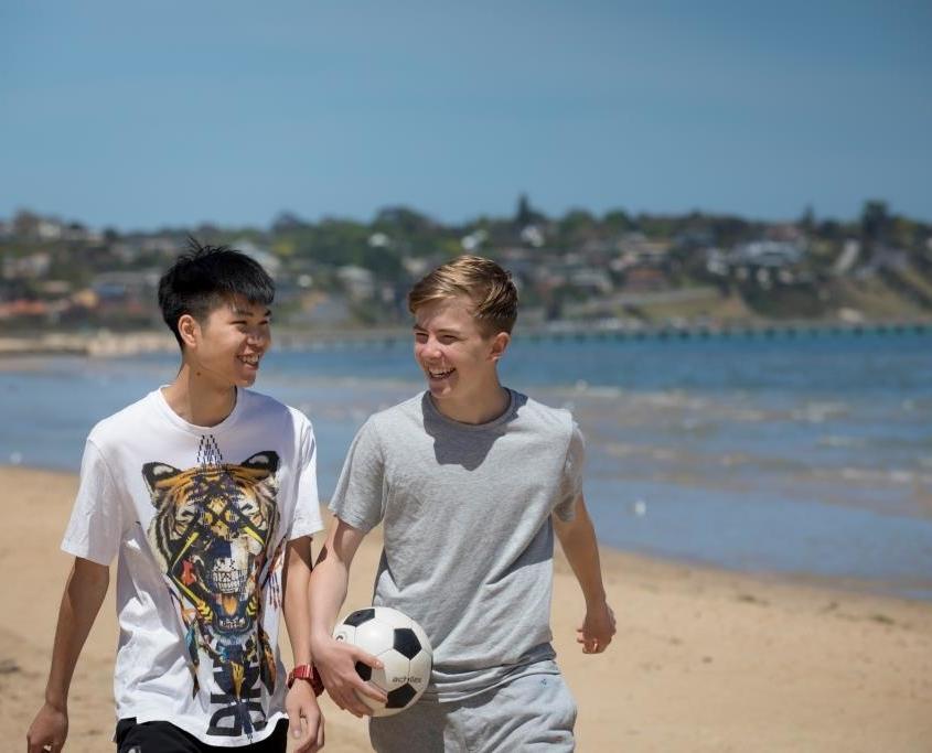 Außerschulische Aktivitäten an den High Schools in Victoria