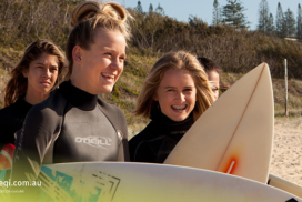 Sunshine Beach State High School Surfen