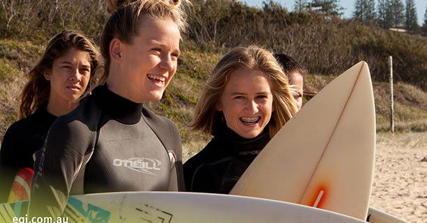 Sunshine Beach State High School Surfen